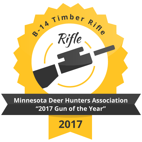 "B 14 Timber Rifle Minnesota Deer Hunters Association ""2017 Gun of the Year"""