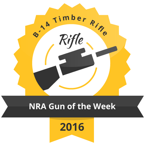 B 14 Timber Rifle NRA Gun of the Week 20161
