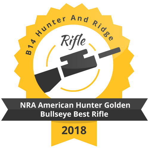 NRA American Hunter Golden Bullseye Best Rifle 2018 award
