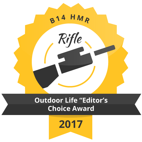"B 14 HMR Outdoor Life ""Editor's Choice Award"" 2017"