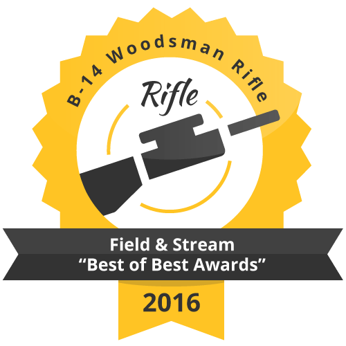 "B 14 Woodsman Rifle Field   Stream ""Best of Best Awards"" 2016"