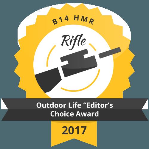 "B 14 HMR Outdoor Life ""Editor's Choice Award"" 2017"