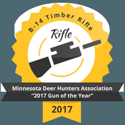 "B 14 Timber Rifle Minnesota Deer Hunters Association ""2017 Gun of the Year"""