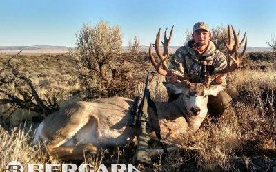 Jason Rost harvests a 240